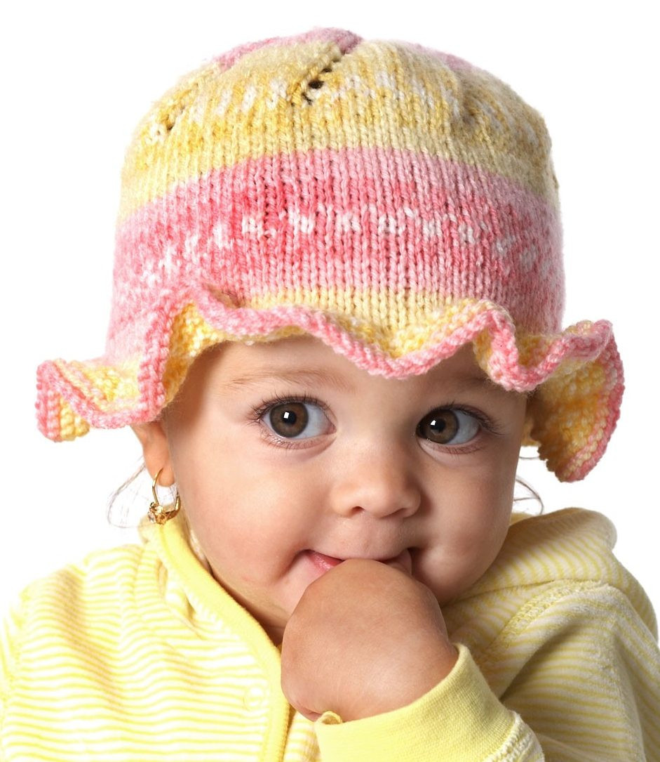 Knitted Baby Hats Unique Baby Hats with Brims Knitting Patterns Of Awesome 41 Images Knitted Baby Hats