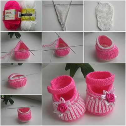 Knitted Baby Shoes Beautiful Wonderful Diy Cute Knit Baby Booties Of Attractive 40 Pics Knitted Baby Shoes