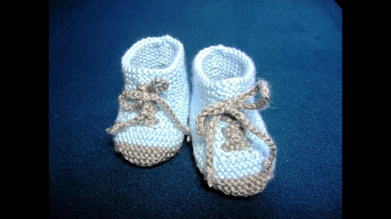 Knitted Baby Shoes Elegant How to Knit Baby Booties Shoes Part 3 Of Attractive 40 Pics Knitted Baby Shoes