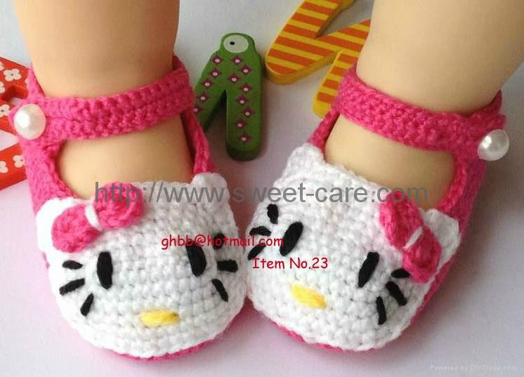 Knitted Baby Shoes Inspirational Handmade Hand Knit Crochet Baby Shoes Booties with Hello Of Attractive 40 Pics Knitted Baby Shoes