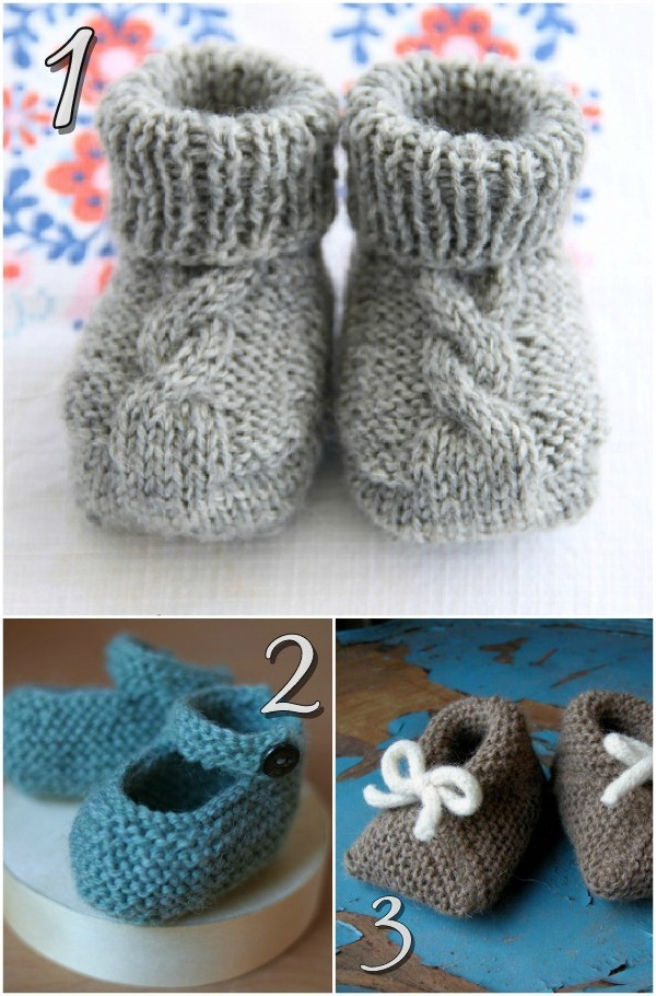 Knitted Baby Shoes Lovely 10 Free Knitting Patterns for Baby Shoes Blissfully Of Attractive 40 Pics Knitted Baby Shoes