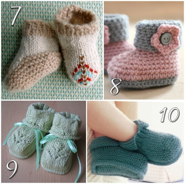 Knitted Baby Shoes Luxury 10 Free Knitting Patterns for Baby Shoes Of Attractive 40 Pics Knitted Baby Shoes