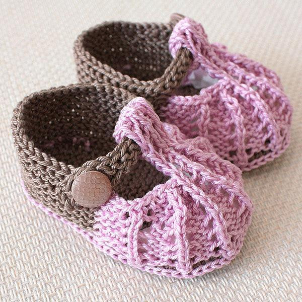 boots knitted baby shoes free patterns