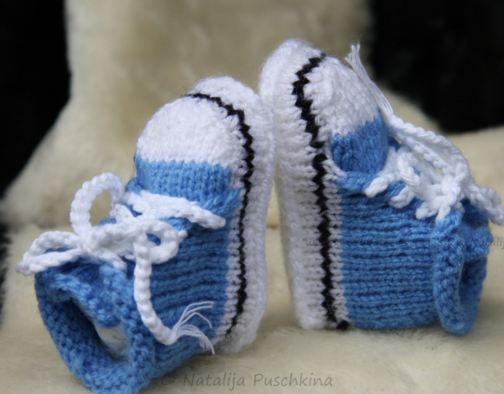 Step By Step Instructions How To Knit Baby Booties