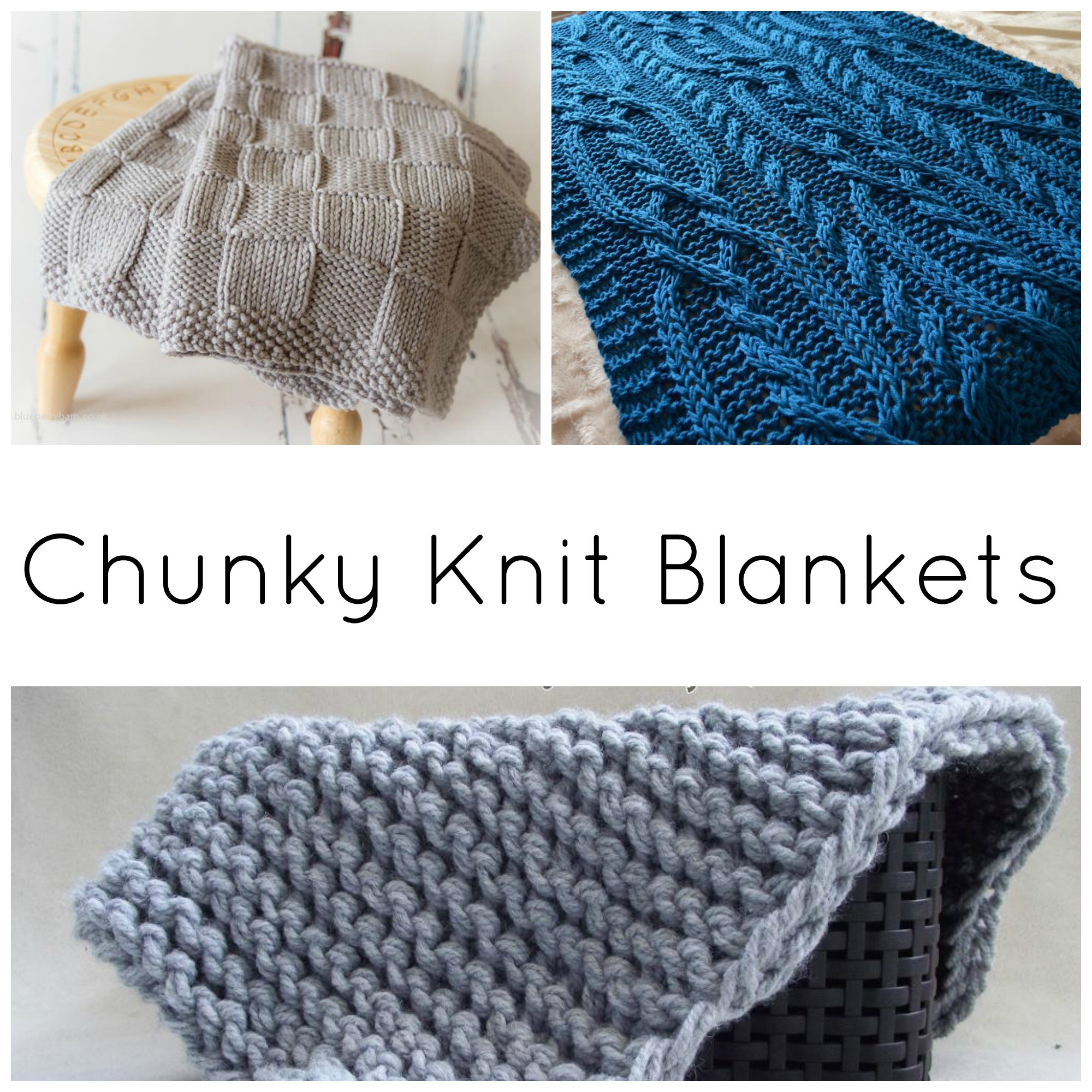 Knitted Blanket Patterns Luxury 10 Quick & Cozy Chunky Knit Blanket Patterns On Craftsy Of Adorable 45 Photos Knitted Blanket Patterns