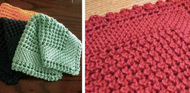 Knitted Dishcloth Beautiful Diagonally Knitted Dishcloth [free Knitting Pattern] Of Gorgeous 46 Photos Knitted Dishcloth
