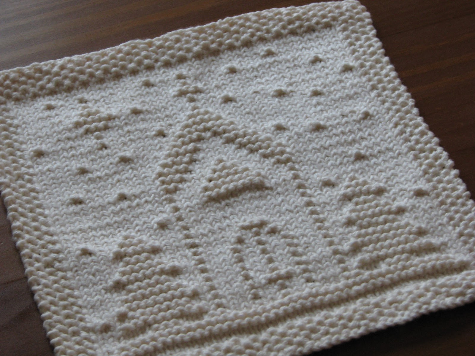 e Crafty Mama O Holy Night Dishcloth