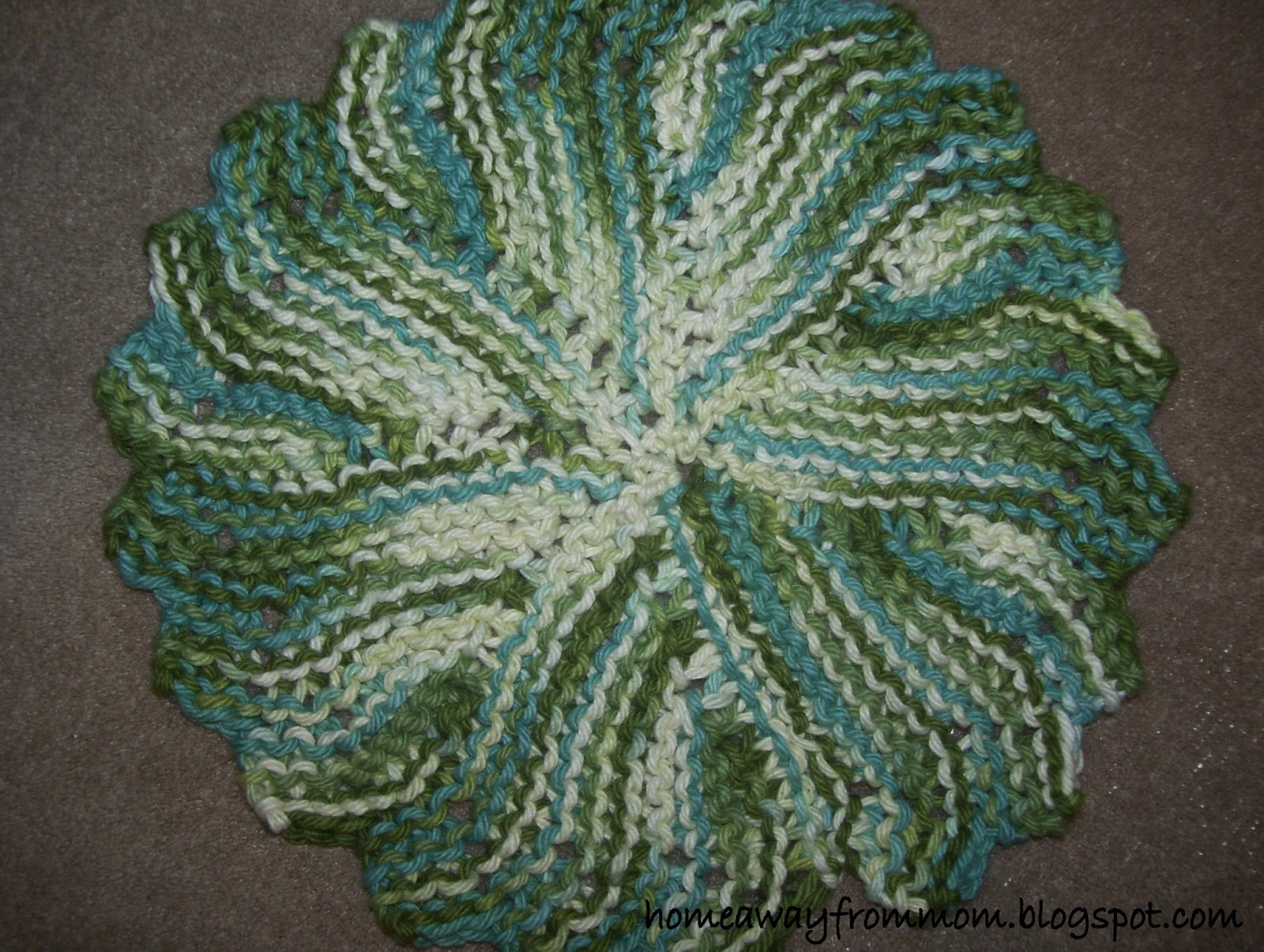 Knitted Dishcloth Elegant Home Away From Mom 2 Knitting Project 3 Round Knit Of Gorgeous 46 Photos Knitted Dishcloth