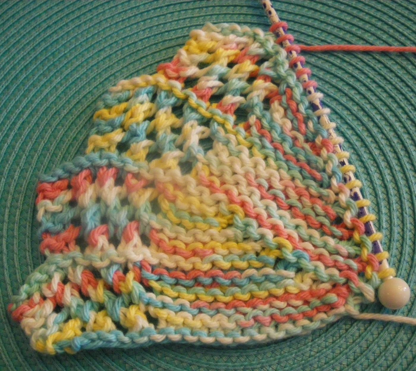 Knitted Dishcloth Fresh Monthly Dishcloth Overflow April 16 Kal Day 2 and Finish Of Gorgeous 46 Photos Knitted Dishcloth