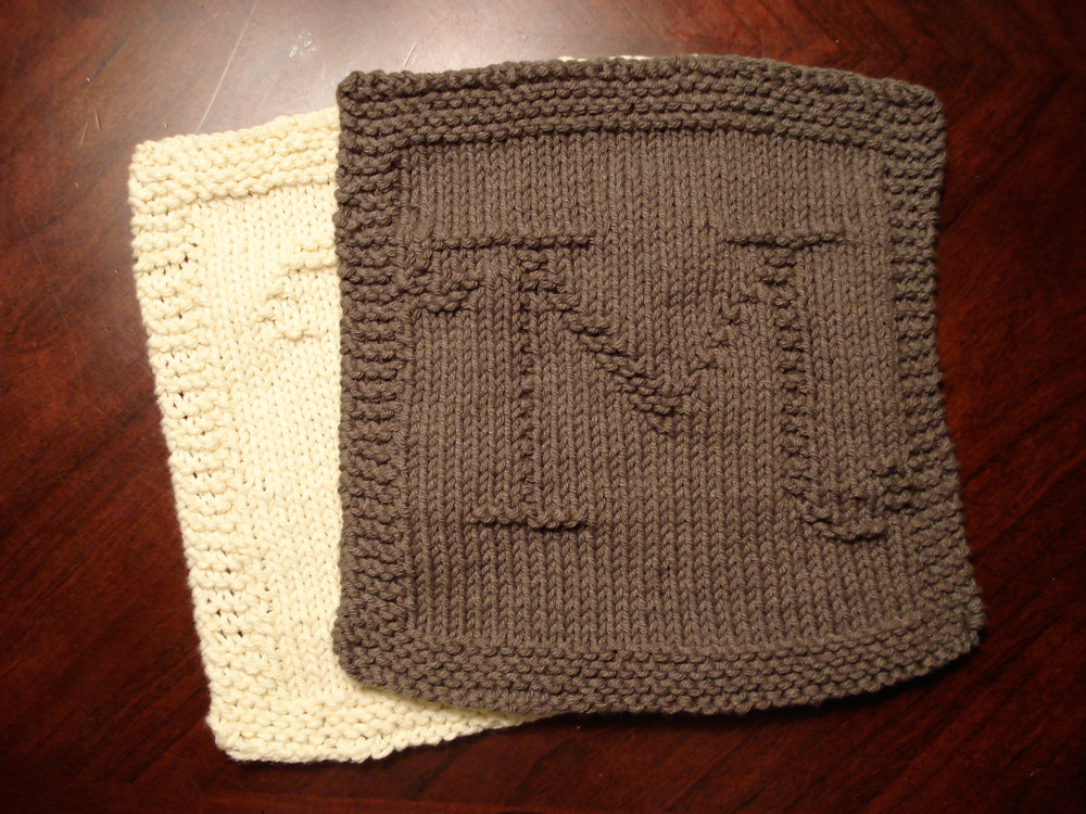 Knitted Dishcloth Luxury Monogrammed Dishcloths M Heather Kate Of Gorgeous 46 Photos Knitted Dishcloth
