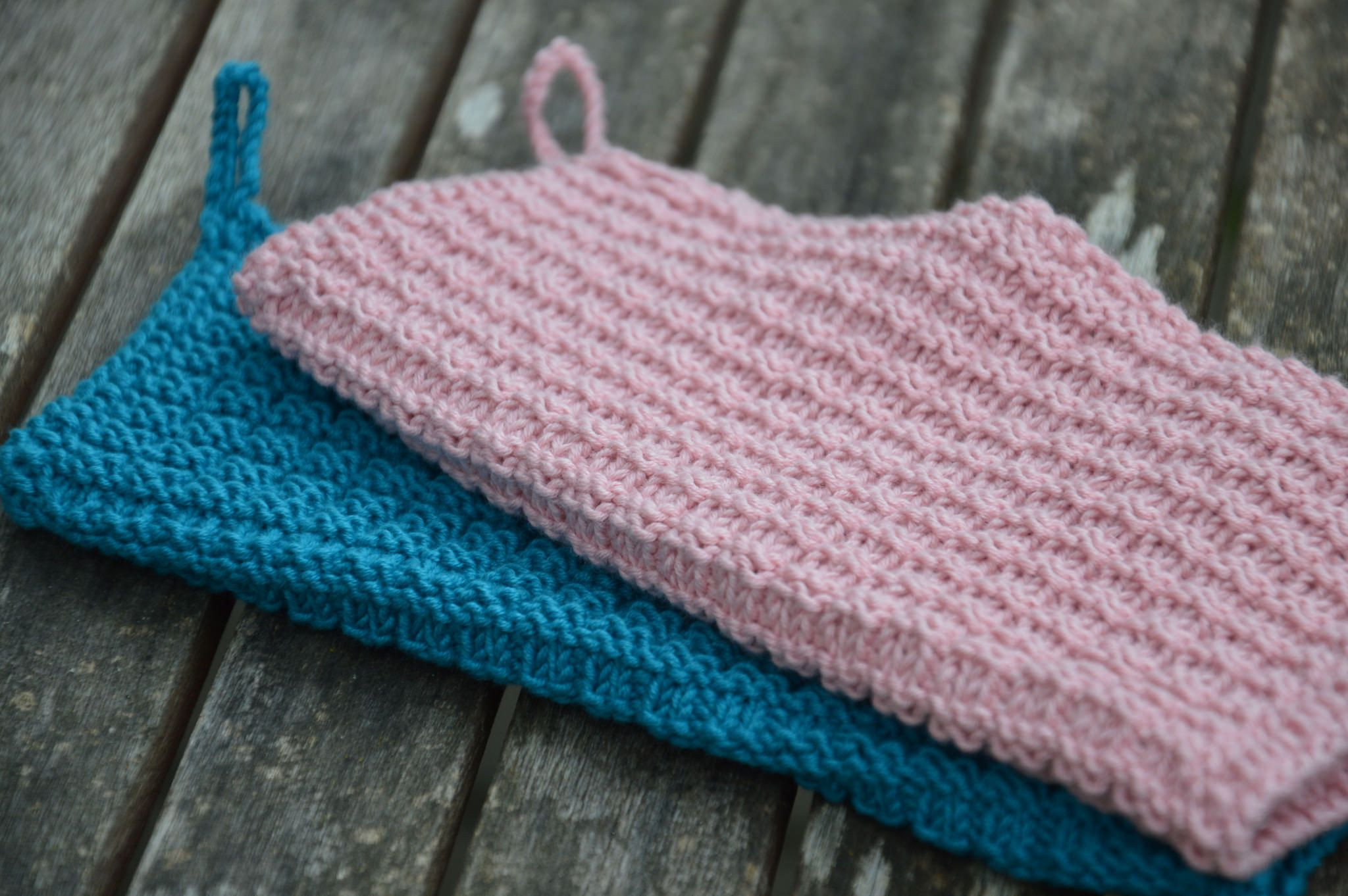 washcloth knitting patterns