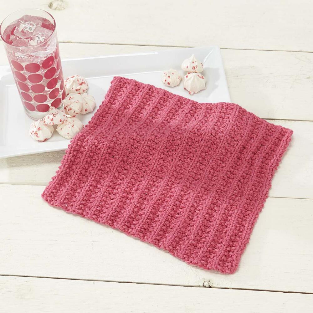 Knitted Dishcloth Patterns Beautiful Simple Knit sorbet Dishcloth [free Knitting Pattern] Of Brilliant 47 Pics Knitted Dishcloth Patterns