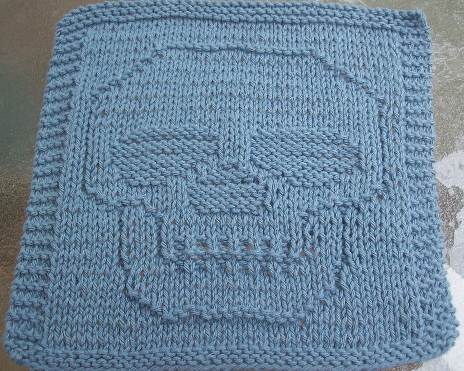 Knitted Dishcloth Patterns Best Of Digknitty Designs Just A Skull Knit Dishcloth Pattern Of Brilliant 47 Pics Knitted Dishcloth Patterns