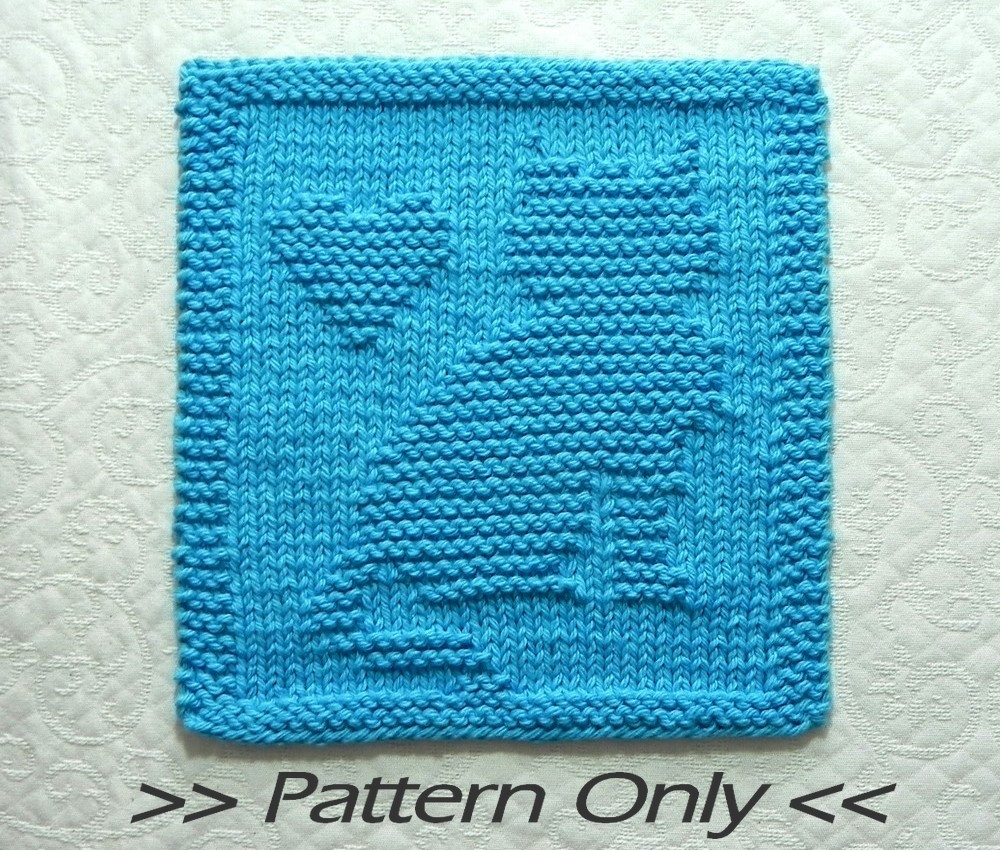 Knitted Dishcloth Patterns Elegant Cat Knit Pattern with Heart Knitted Dishcloth Pattern Of Brilliant 47 Pics Knitted Dishcloth Patterns