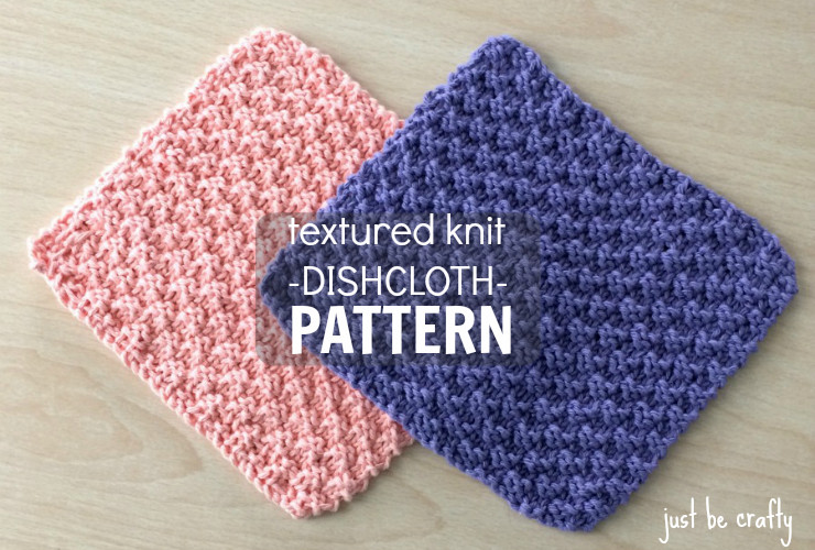 Knitted Dishcloth Patterns Elegant New Free Pattern Textured Knit Dishcloth Pattern by Of Brilliant 47 Pics Knitted Dishcloth Patterns
