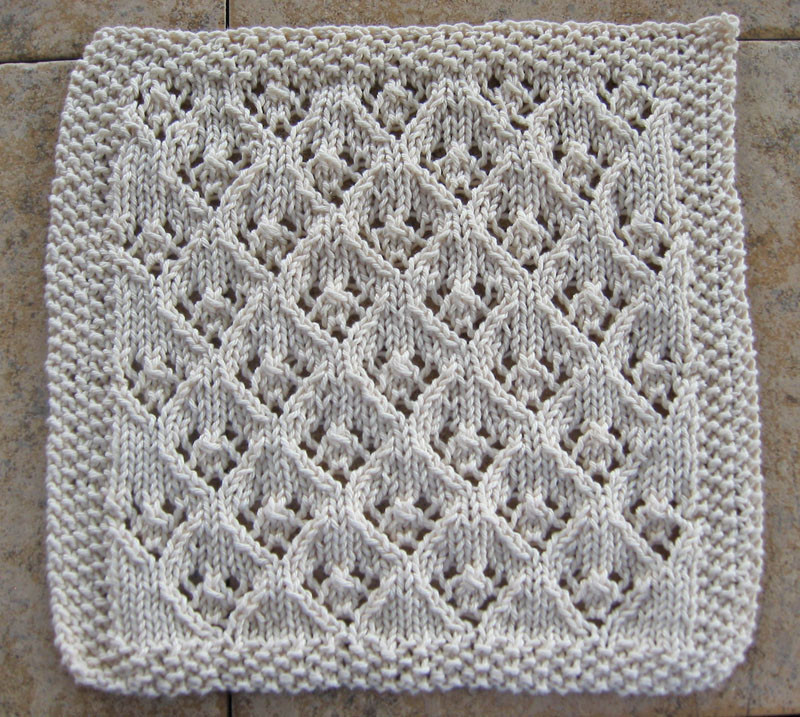 Knitted Dishcloth Patterns New Elfinlace1 Of Brilliant 47 Pics Knitted Dishcloth Patterns