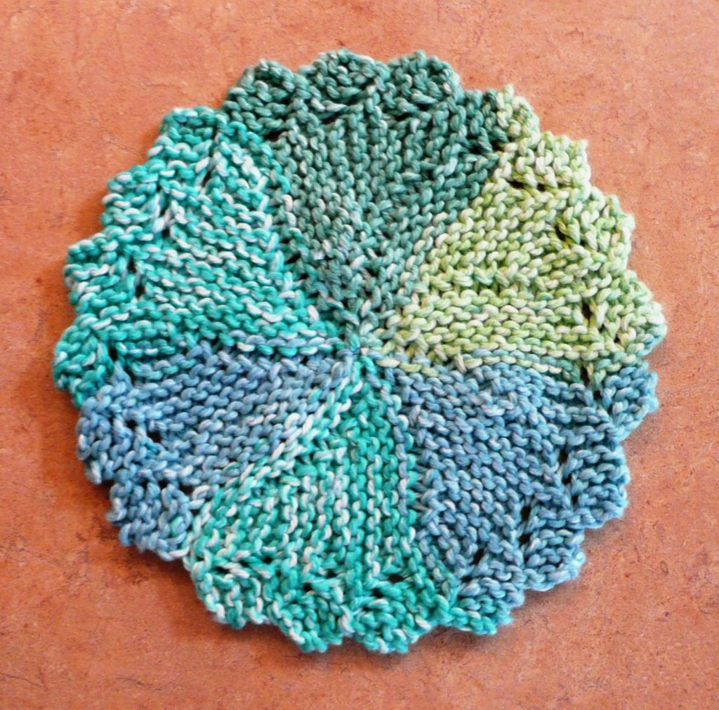 Free free lace dishcloth knitting pattern Patterns