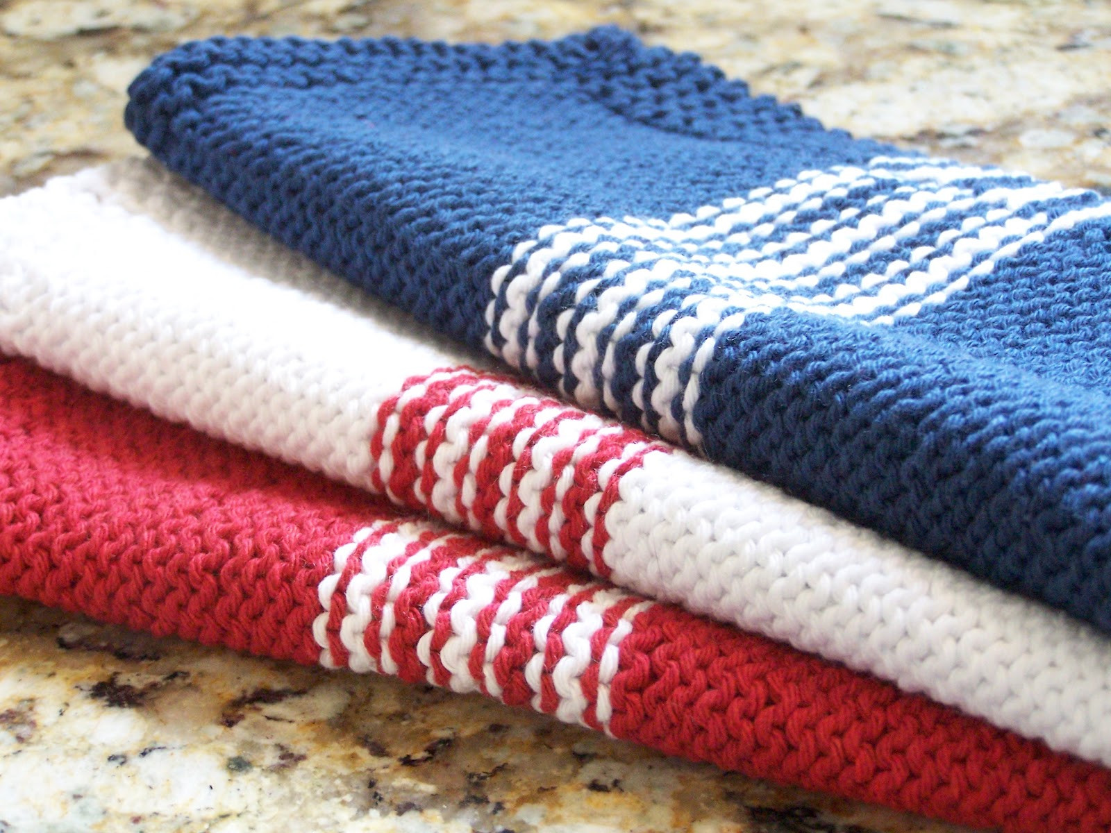 Knitted Dishcloth Unique Delorme Designs French Stripe Dishcloth Of Gorgeous 46 Photos Knitted Dishcloth