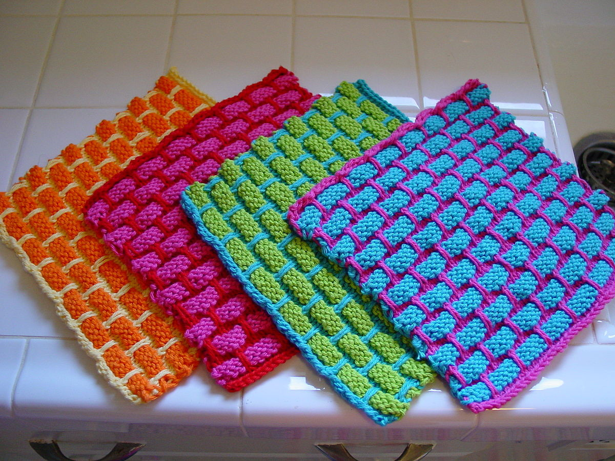 Knitted Dishcloth Unique Dishcloth Of Gorgeous 46 Photos Knitted Dishcloth