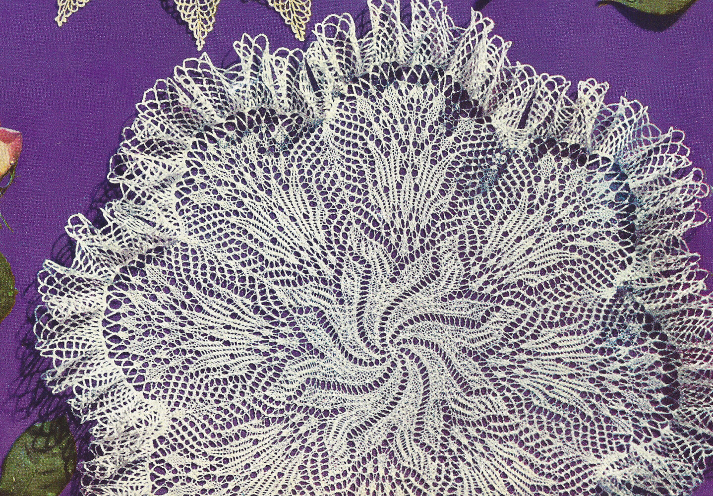 Knitted Doily Inspirational Pattern to Make Vintage Knitted Lace Doily Centerpiece Mat Of Adorable 43 Ideas Knitted Doily