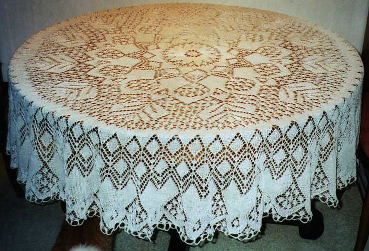 Knitted Doily Lovely 19 Best Images About Knit♡tablecloths On Pinterest Of Adorable 43 Ideas Knitted Doily