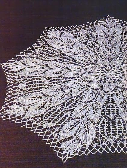 Knitted Doily Unique 17 Best Images About Doilies and Vintage Lace Patterns On Of Adorable 43 Ideas Knitted Doily
