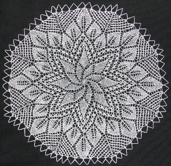 Knitted Doily Unique the Cromulent Knitter Knitting A German Doily Pattern Of Adorable 43 Ideas Knitted Doily