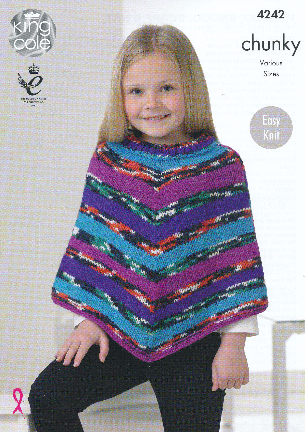 Knitted Poncho Elegant Girls Chunky Knitting Pattern King Cole Easy Knit Poncho Of Amazing 49 Photos Knitted Poncho
