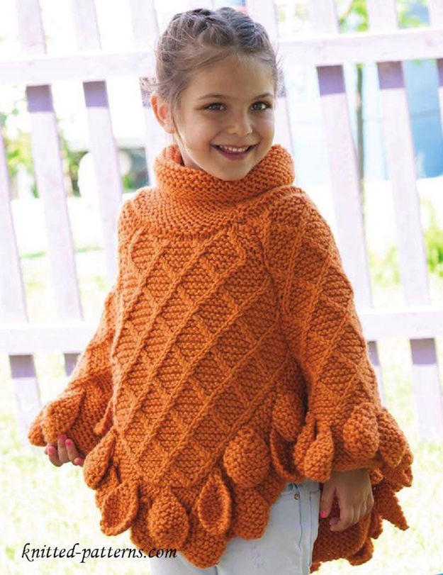 Knitted Poncho New 10 Knitted Poncho Ideas to Make Your Kids Winter Proof Of Amazing 49 Photos Knitted Poncho