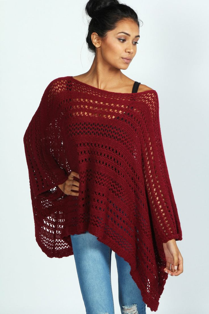 Knitted Poncho New Charlotte Knitted Poncho at Boohoo Of Amazing 49 Photos Knitted Poncho