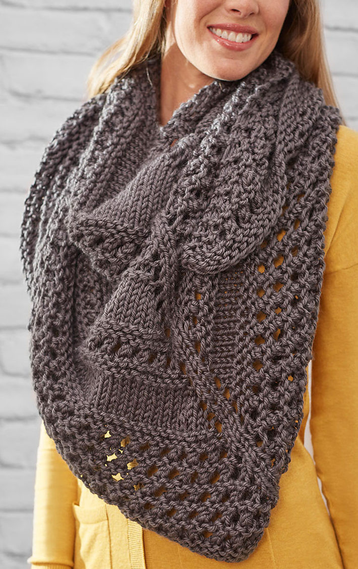 Knitted Shawl Best Of Easy Shawl Knitting Patterns Of Fresh 47 Pics Knitted Shawl