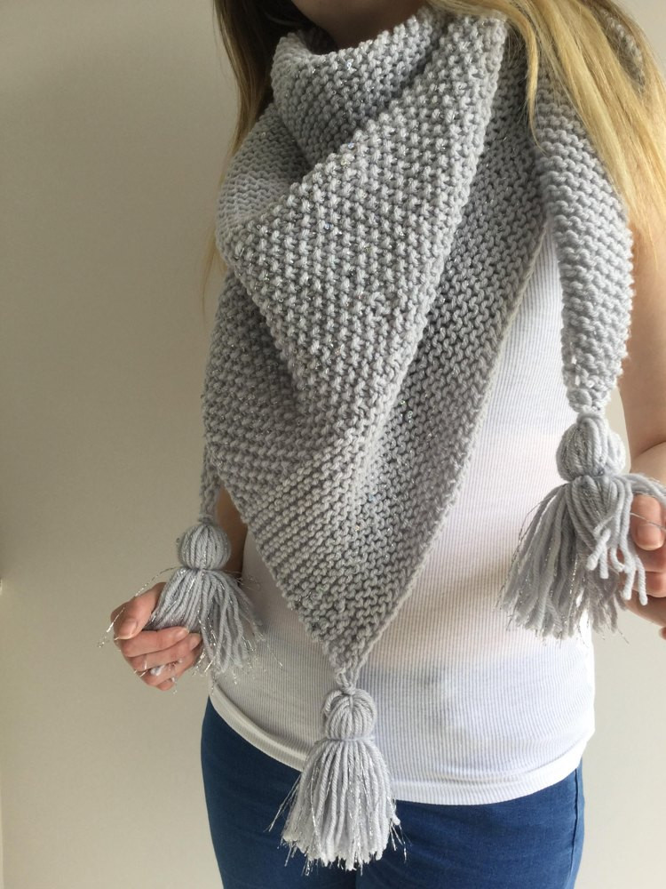 Knitted Shawl Lovely Sea Silver Shawl Knitting Pattern by the Lonely Sea Of Fresh 47 Pics Knitted Shawl