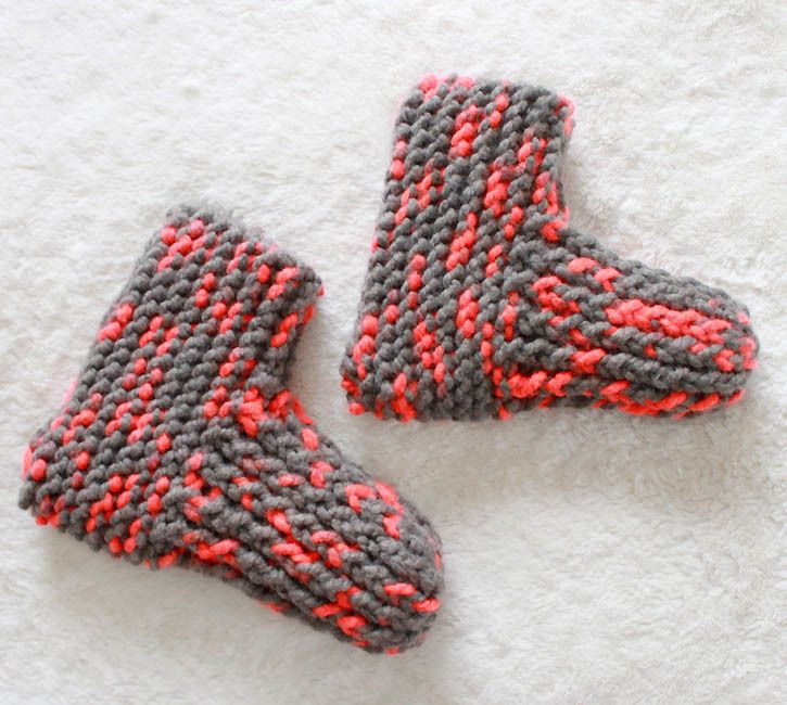 Knitted Slippers Awesome the 46 Best Images About Easy sock Knitting Patterns On Of New 42 Photos Knitted Slippers