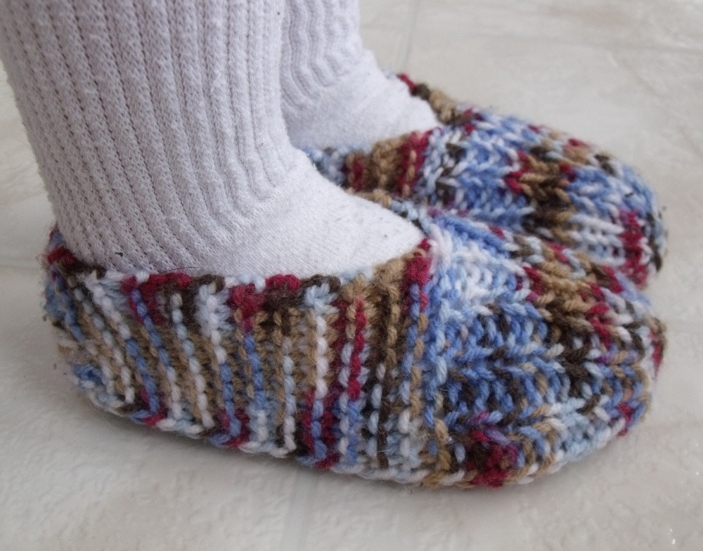 Knitted Slippers Beautiful Kweenbee and Me How to Knit Children S Slippers Of New 42 Photos Knitted Slippers
