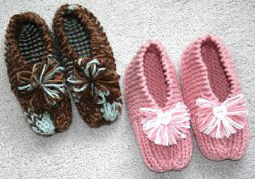Knitted Slippers Lovely Grandma S Knitted Slippers Pattern Of New 42 Photos Knitted Slippers