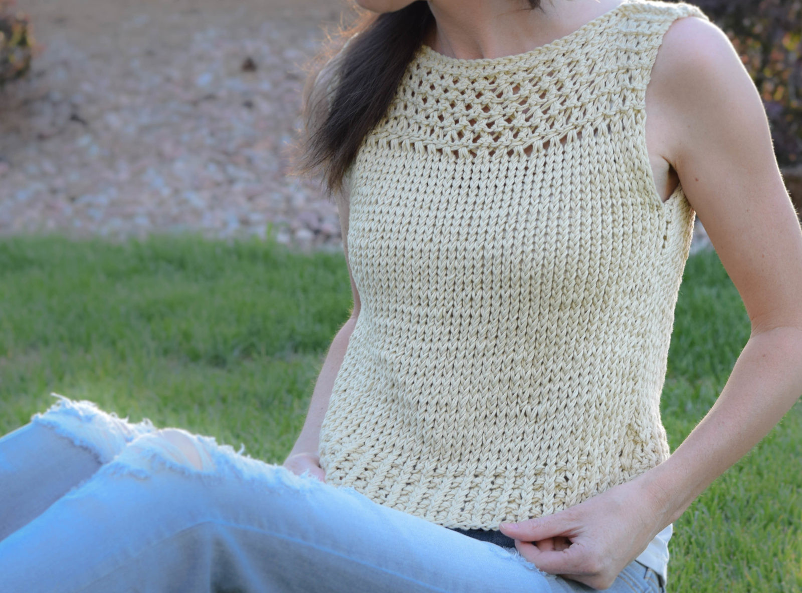 Knitted Summer tops Awesome Summer Vacation Knit top Pattern – Mama In A Stitch Of Attractive 48 Ideas Knitted Summer tops