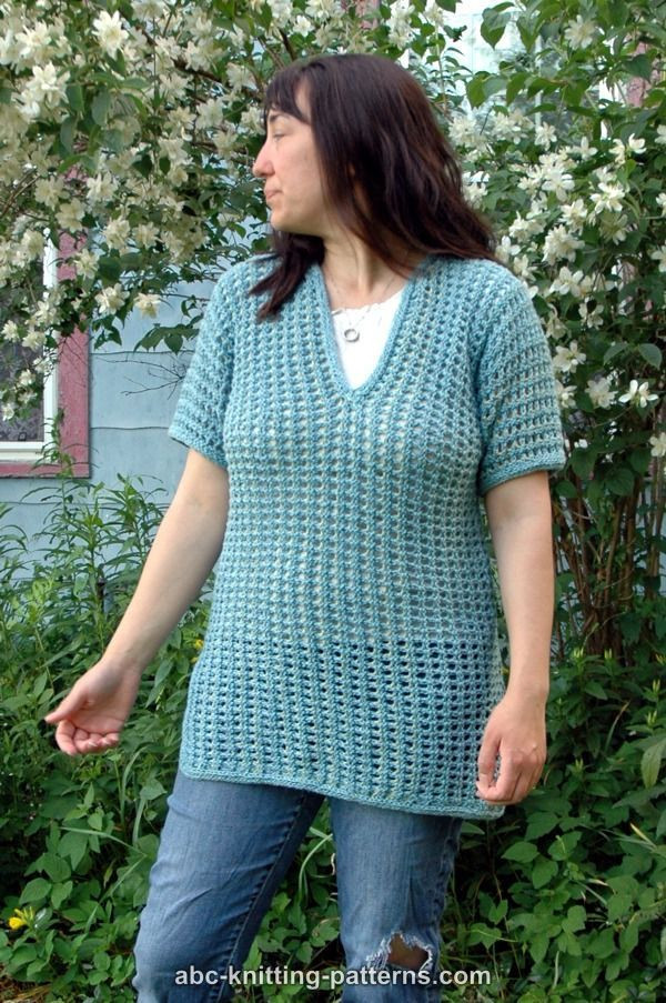 24 best images about Knit Summer Tops on Pinterest