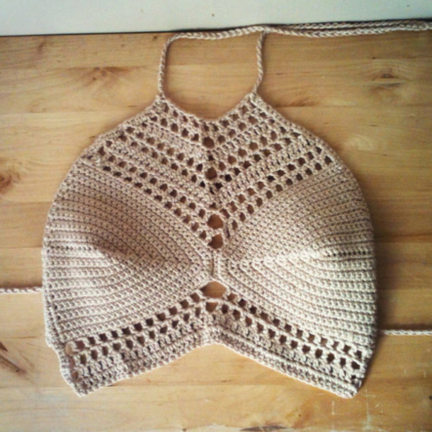 Knitted Summer tops Best Of Shirt Handmade Hippie Knitted top Crochet top Crochet Of Attractive 48 Ideas Knitted Summer tops