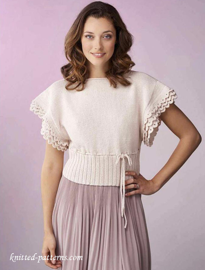 Knitted Summer tops Fresh Summer top for Women Knitting Pattern Of Attractive 48 Ideas Knitted Summer tops