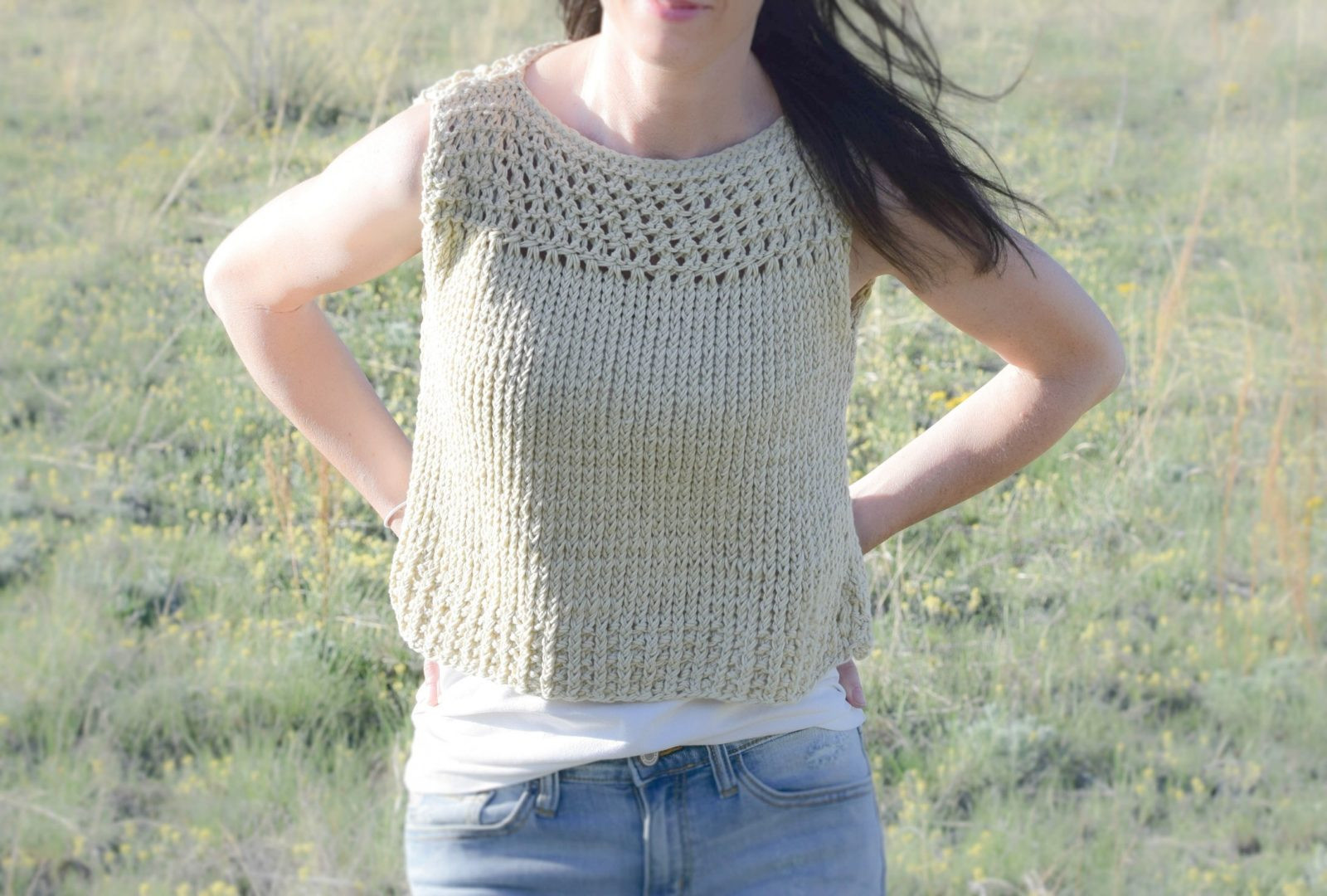 Knitted Summer tops Inspirational Summer Vacation Knit top Pattern – Mama In A Stitch Of Attractive 48 Ideas Knitted Summer tops