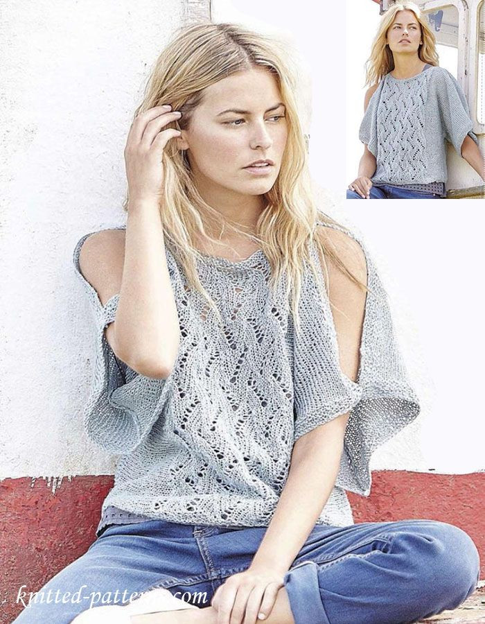 Knitted Summer tops Lovely 175 Best Summer Knits Images On Pinterest Of Attractive 48 Ideas Knitted Summer tops