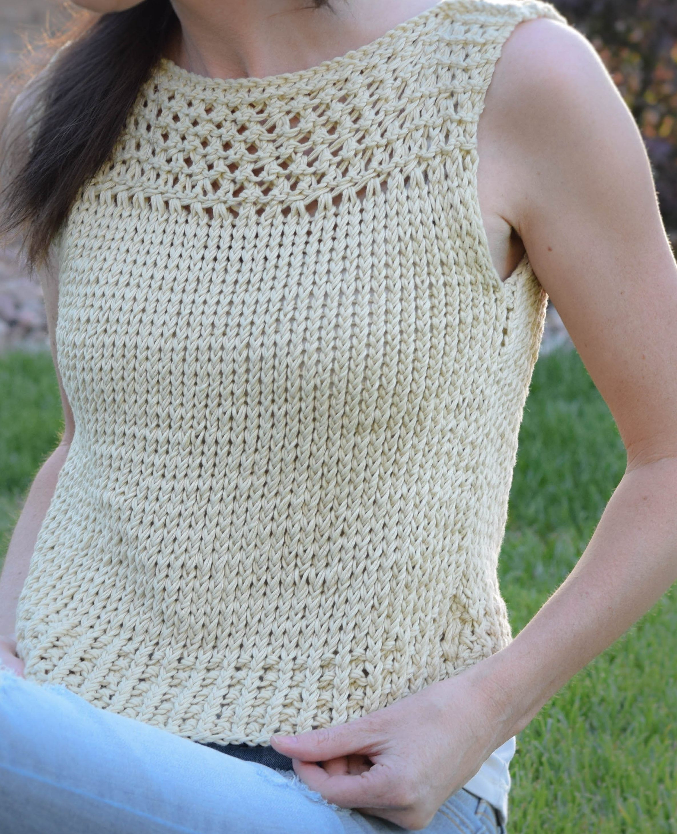 Knitted Summer tops Lovely Free Knitting Pattern for Summer Vacation Easy top Of Attractive 48 Ideas Knitted Summer tops