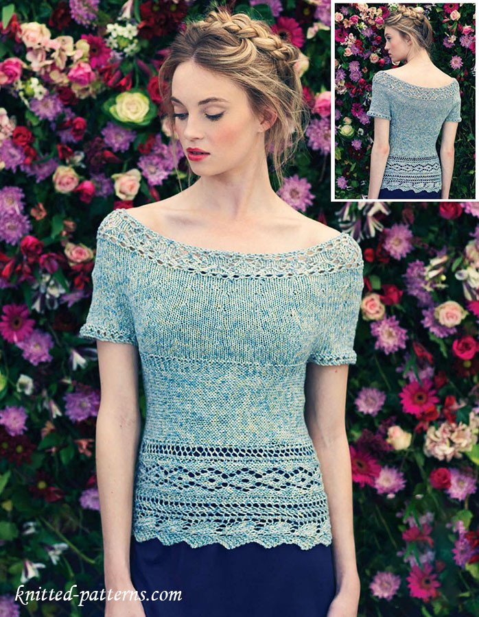 Knitted Summer tops Unique Summer top Knitting Pattern Of Attractive 48 Ideas Knitted Summer tops