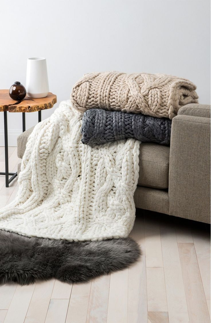 Ugg Cable Knit Throw