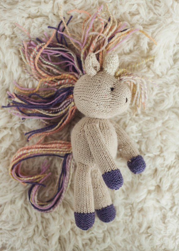 Knitted Unicorn Awesome Pattern Rainflower Unicorn Knitting Knitted toy From Of Amazing 40 Images Knitted Unicorn