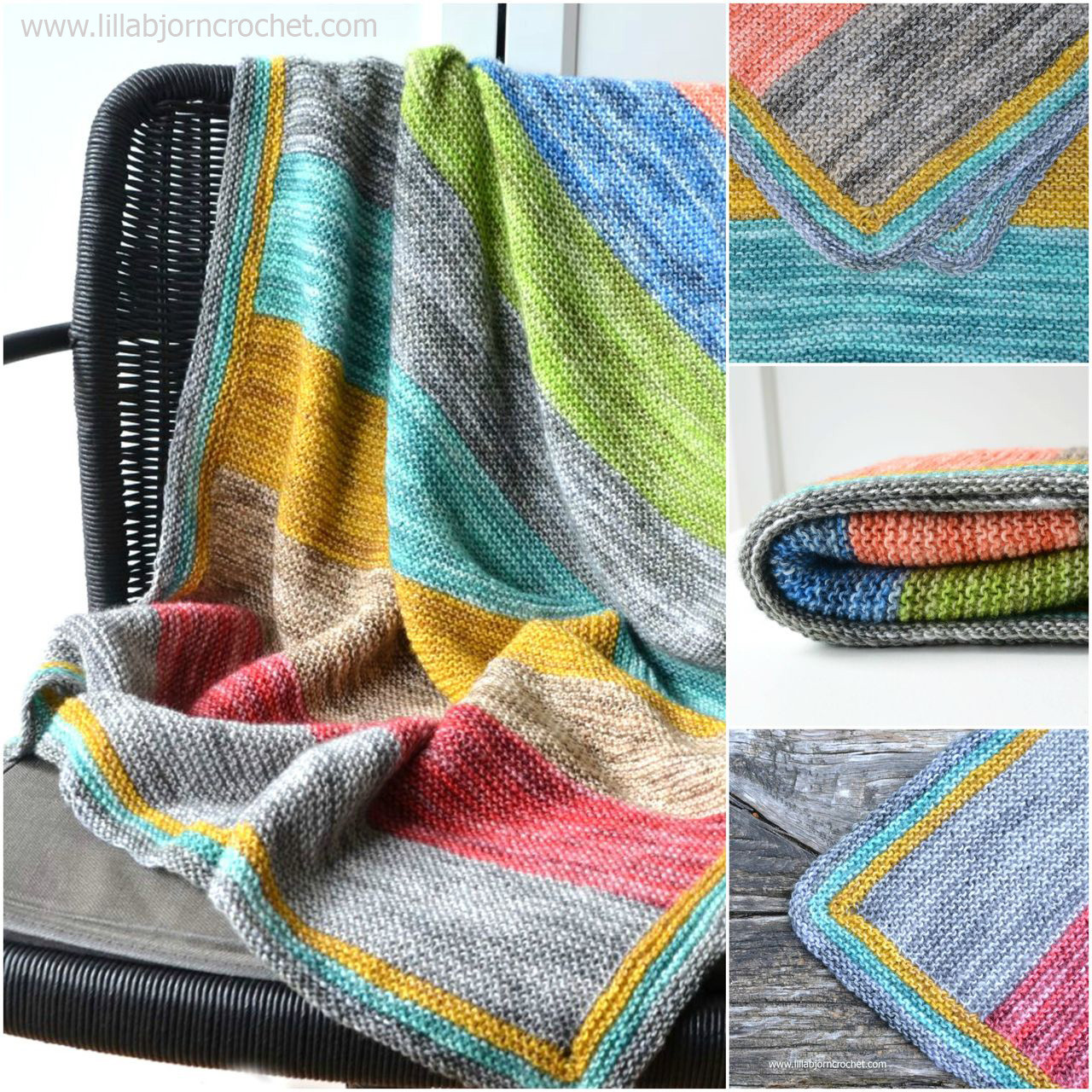 Forest Spirit Baby Blanket free knitting pattern