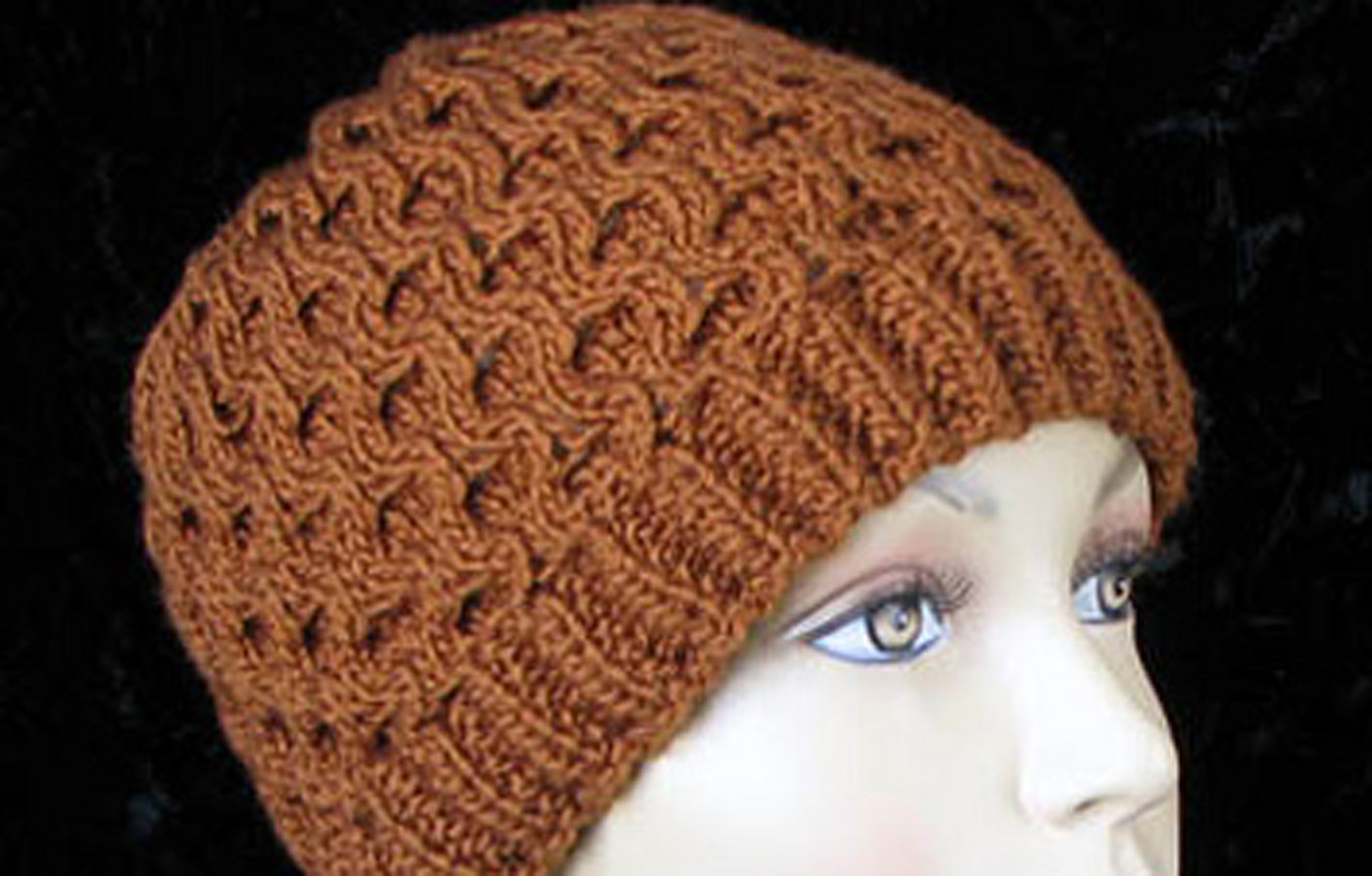 Honey b Hat Free Knitting Pattern