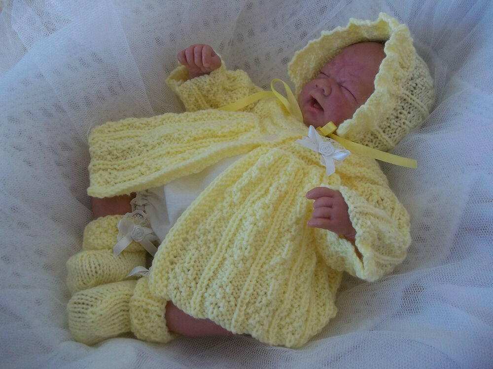 Knitting for Newborns Fresh Dk Knitting Pattern 18a to Knit Early Baby Girl 14 16 Of Awesome 41 Images Knitting for Newborns