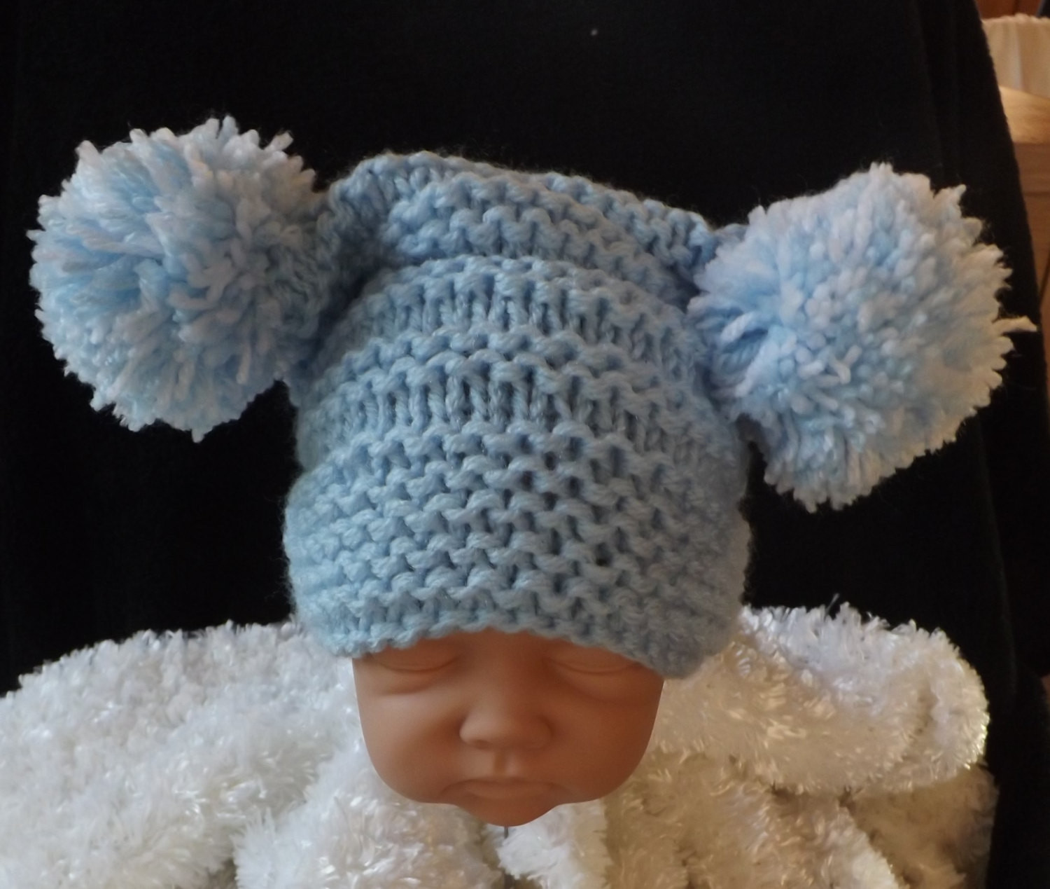 Knitting for Newborns Inspirational Knitting Pattern for Baby Pom Pom Hat Easy Knit Size Newborn Of Awesome 41 Images Knitting for Newborns