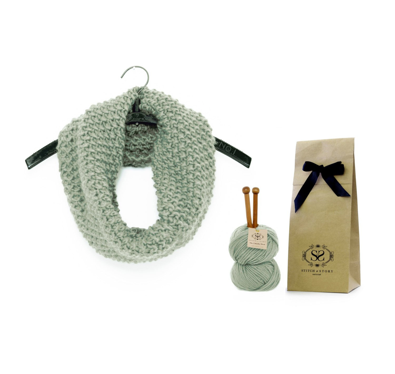 Knitting Kits Awesome Beginners Knitting Kit Learn to Knit Diy Set Infinity Scarf Of Perfect 44 Images Knitting Kits